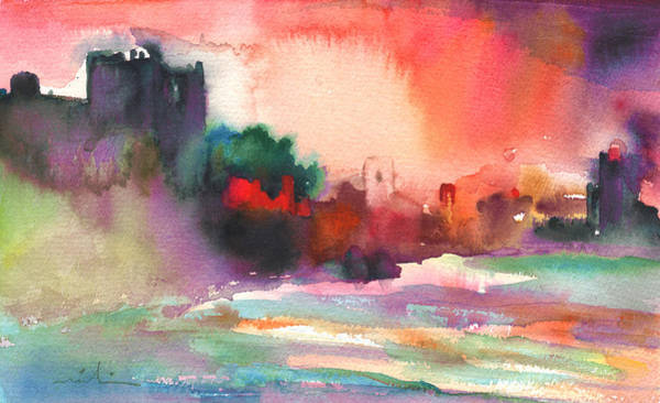 Pyrenees Painting - Collioure Impression 02 by Miki De Goodaboom
