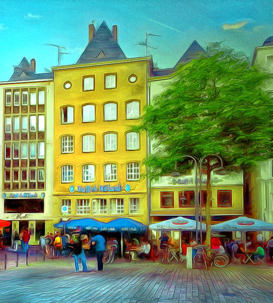 Wall Art - Digital Art - Cologne Friday by Yury Malkov