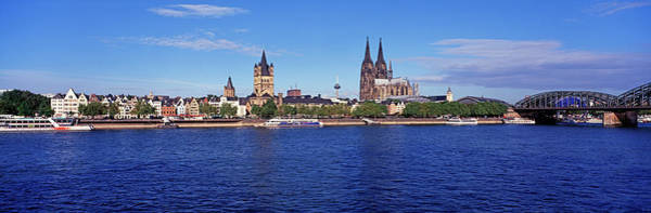Rhine River Photograph - Cologne Skyline by Murat Taner