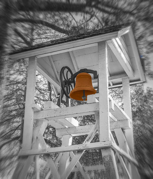 Photograph - Coloma Church Bell by Wes Jimerson