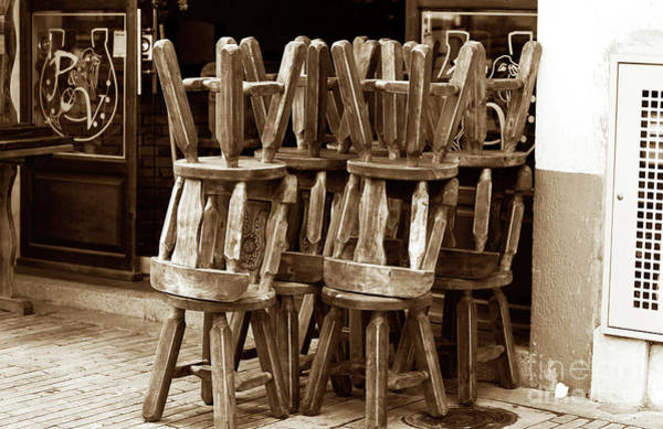 Photograph - Colombian Chairs by John Rizzuto