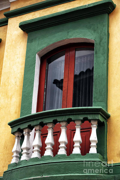 Window Dressing Wall Art - Photograph - Colombian Window Dressing by John Rizzuto