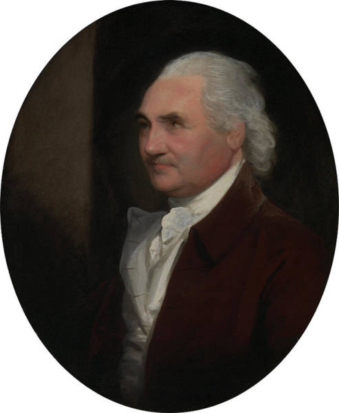 Wall Art - Painting - Colonel Isaac Barre, Gilbert Stuart, 1755-1828 by Litz Collection