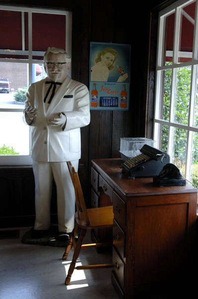 I-75 Photograph - Colonel Sanders by Gary Warnimont