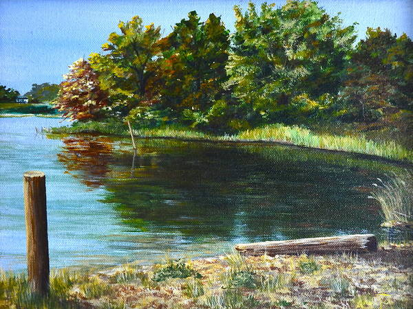 Wall Art - Painting - Colonial Beach by AnnaJo Vahle