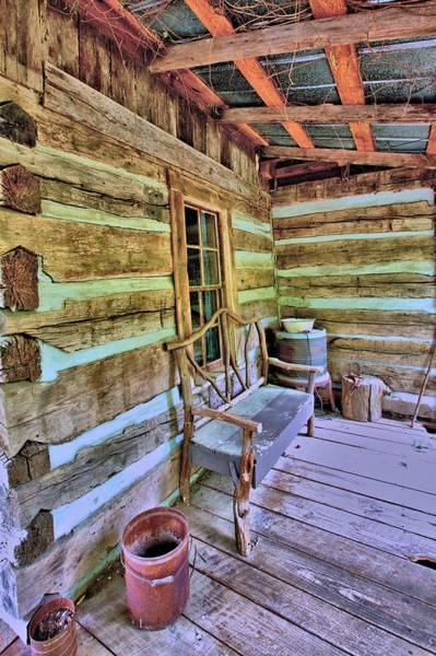 Photograph - Colonial Front Porch Basics by Gordon Elwell