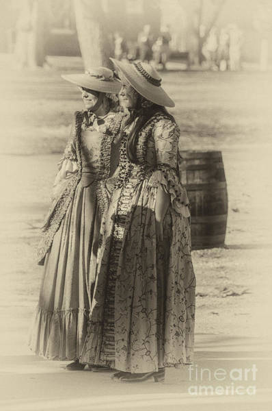 Photograph - Colonial Ladies Iv by Terry Rowe
