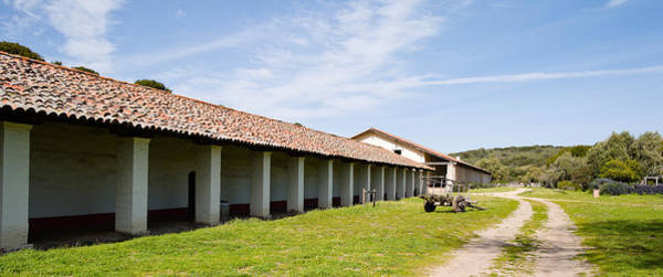 La Purisima Mission Photograph - Colonnade Of A Building, Mission La by Panoramic Images
