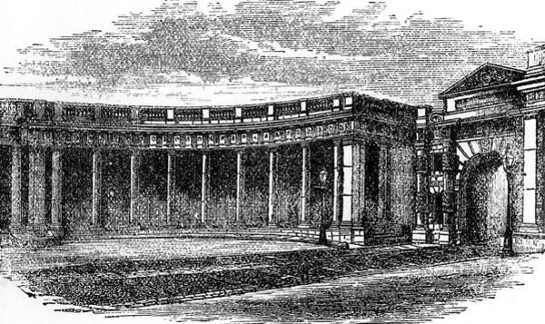 Colonnade Photograph - Colonnade Of Burlington House by Royal Astronomical Society/science Photo Library