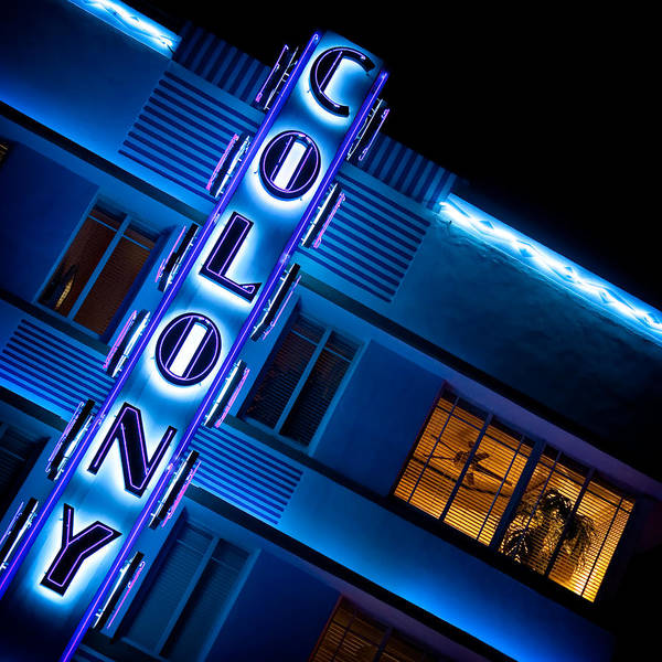 Wall Art - Photograph - Colony Hotel 1 by Dave Bowman