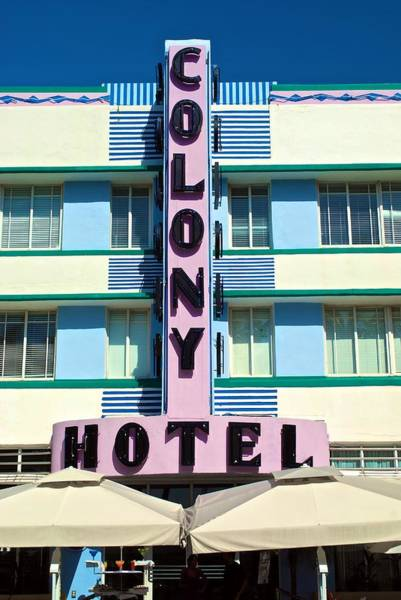 Photograph - Colony Hotel by Ricardo J Ruiz de Porras