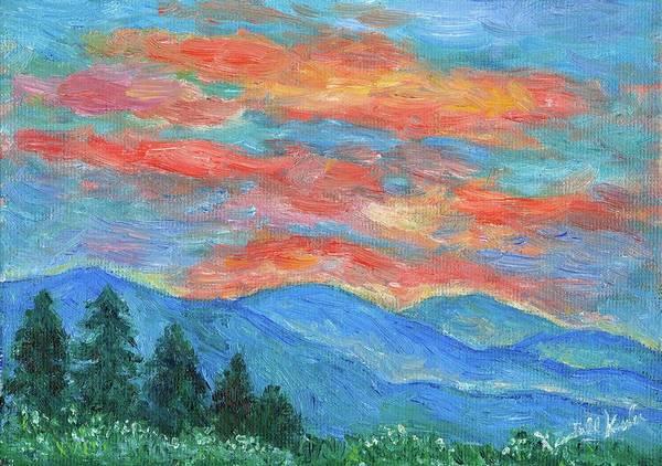 Painting - Color Blast by Kendall Kessler