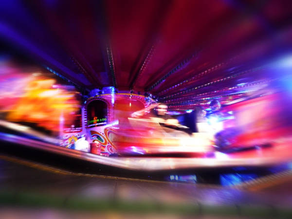 Digital Art - Color Blur Colour by Charles Stuart