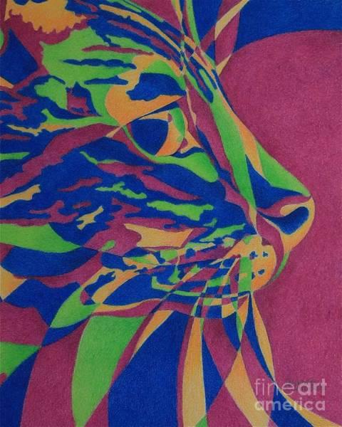 Painting - Color Cat I by Pamela Clements