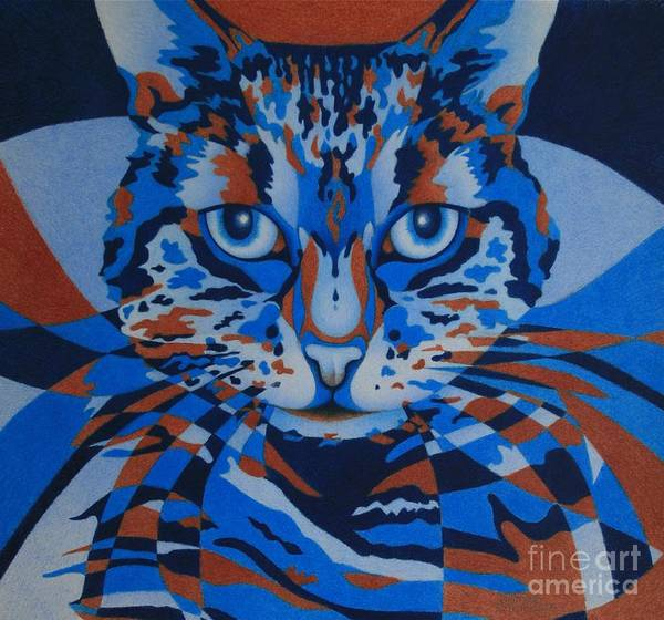 Painting - Color Cat IIi by Pamela Clements