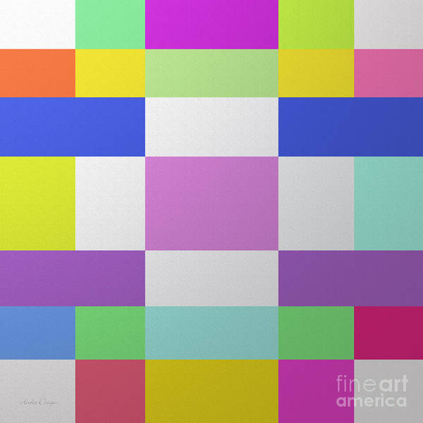 Wall Art - Digital Art - Color Chex By Andee Design by Andee Design