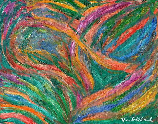 Painting - Color Edge by Kendall Kessler