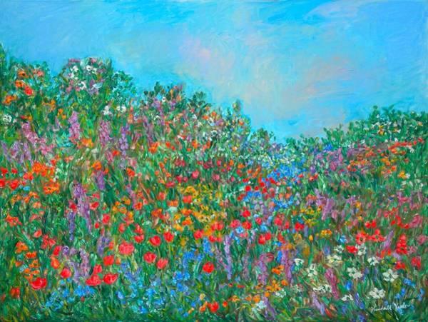 Painting - Color Flow by Kendall Kessler