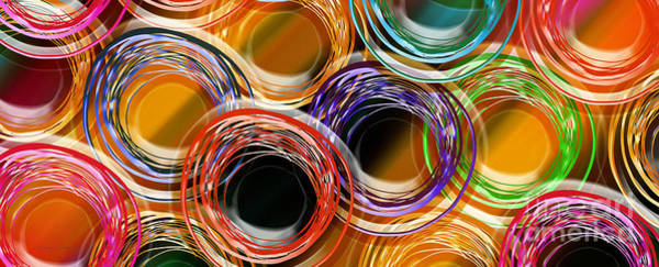 Digital Art - Color Frenzy 8 by Andee Design