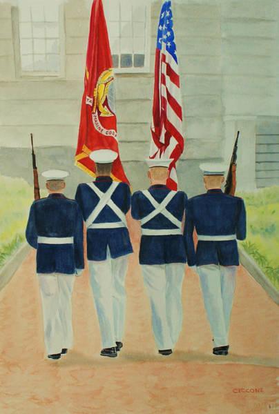 Color Guard Art Print