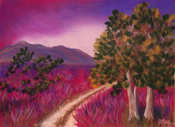 Painting - Color It Purple by Anastasiya Malakhova