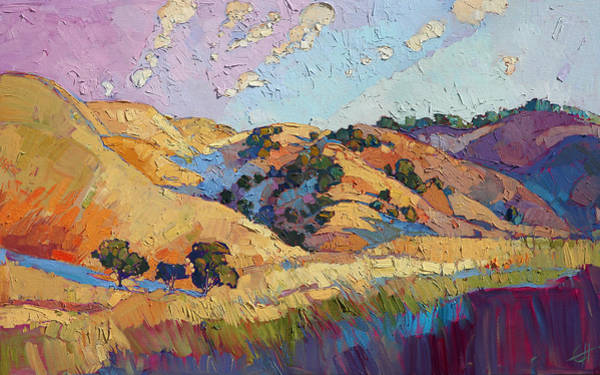 Oak Tree Painting - Color Lush by Erin Hanson