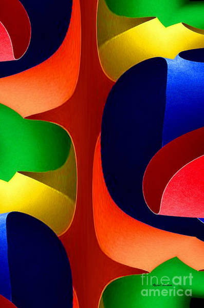 Digital Art - Color Maze by Rafael Salazar