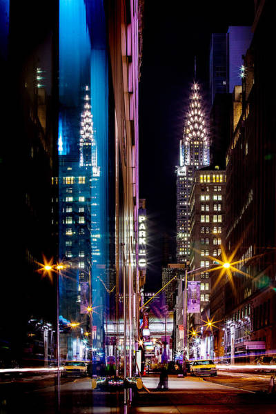 Colour Photograph - Color Of Manhattan by Az Jackson