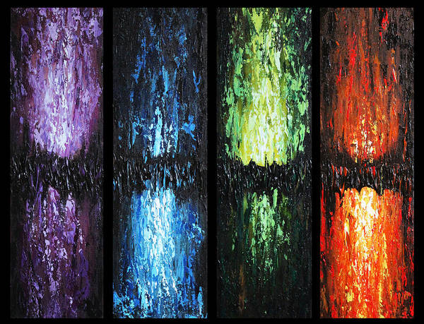 Painting - Color Panels 1 by Patricia Lintner
