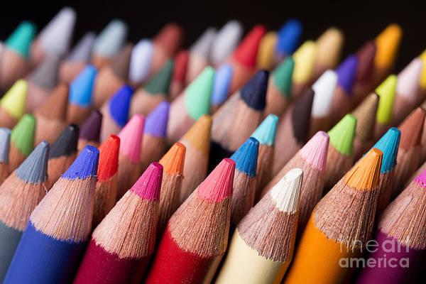 Photograph - Color Pencils 2 by Art Whitton