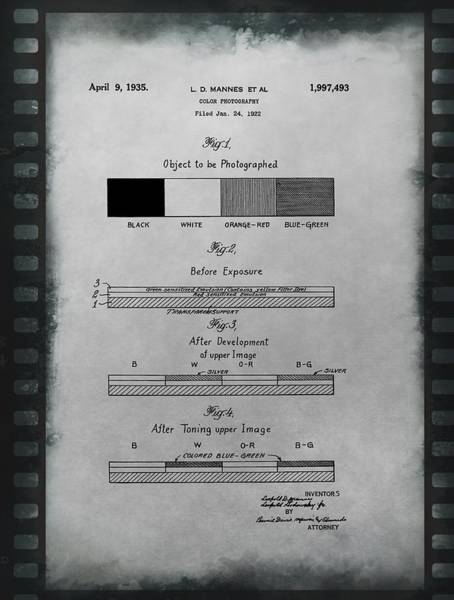 Processing Mixed Media - Color Photography Patent On Film by Dan Sproul