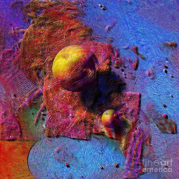 Digital Art - Color Planets by Alexa Szlavics