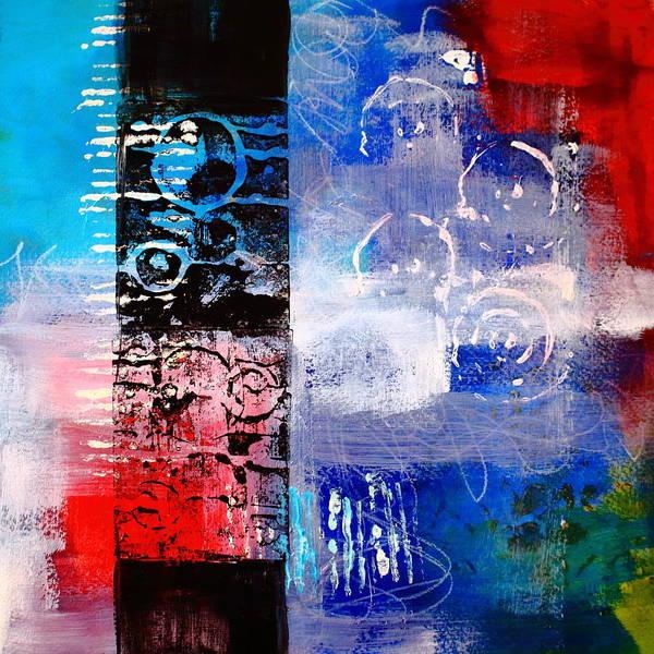 Scribble Painting - Color Scrap by Nancy Merkle
