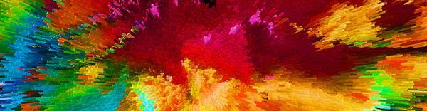 Digital Art - Color Shock 4 - Vibrant Digital Painting by Sharon Cummings