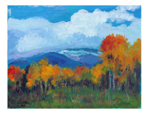 Painting - Color Tour by C Sitton