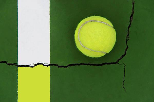 Color Transfer Across The Fault Line Art Print