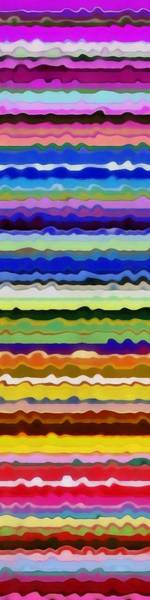 Painting - Color Waves No. 5 by Michelle Calkins