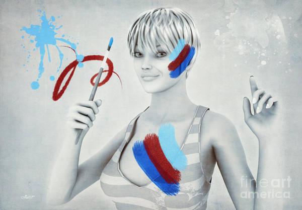 Wall Art - Digital Art - Color Your Life by Jutta Maria Pusl