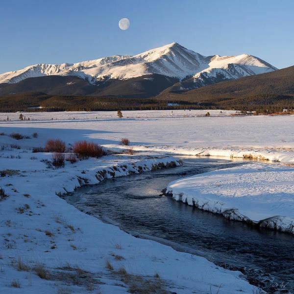 Pleasing Photograph - Colorado 14er Mt. Elbert by Aaron Spong
