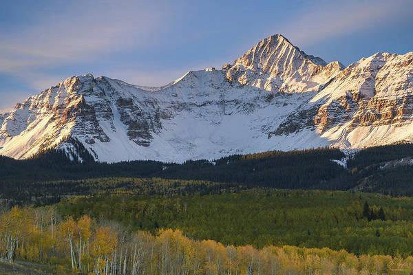 14er Photograph - Colorado 14er Wilson Peak by Aaron Spong