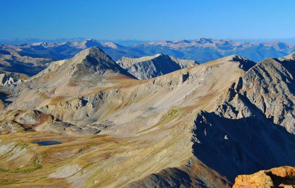 Photograph - Colorado Alpine View by Cascade Colors