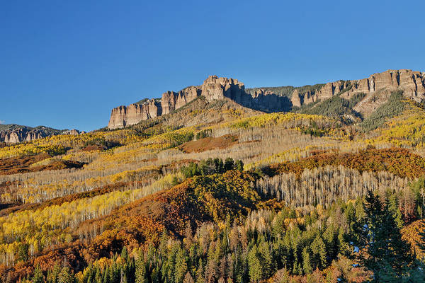 Ridgway Photograph - Colorado, Autumn, Just East Of Ridgway by Darrell Gulin
