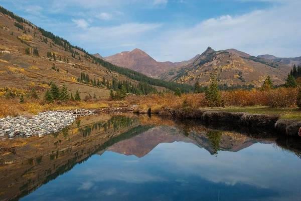 Photograph - Colorado Autumn Mountain Landscape by Cascade Colors
