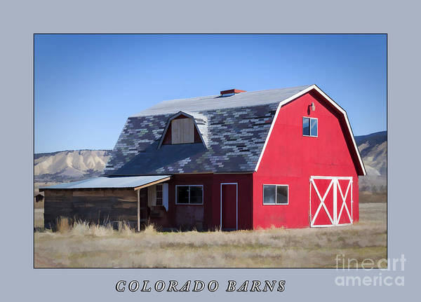 Crazy Mountains Painting - Colorado Barns by Janice Pariza