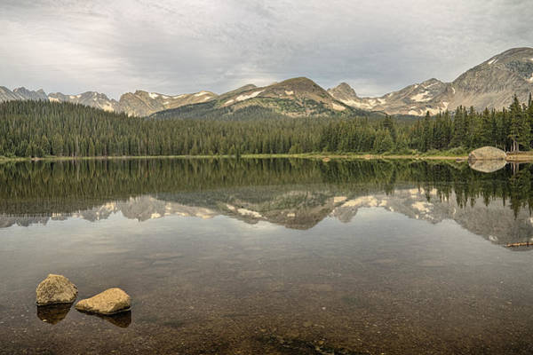 Photograph - Colorado Brainard Lake Reflection by James BO Insogna