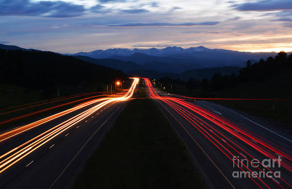 Art Print featuring the photograph Colorado Drive by Kate Avery