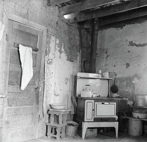 Allison Photograph - Colorado Kitchen, 1938 by Granger