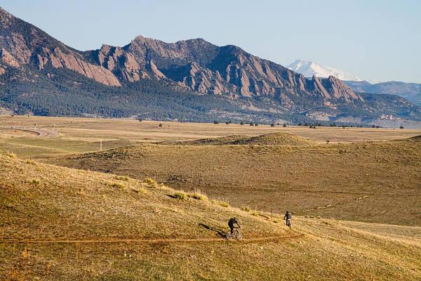 Photograph - Colorado Mountain Biking Fun by James BO Insogna