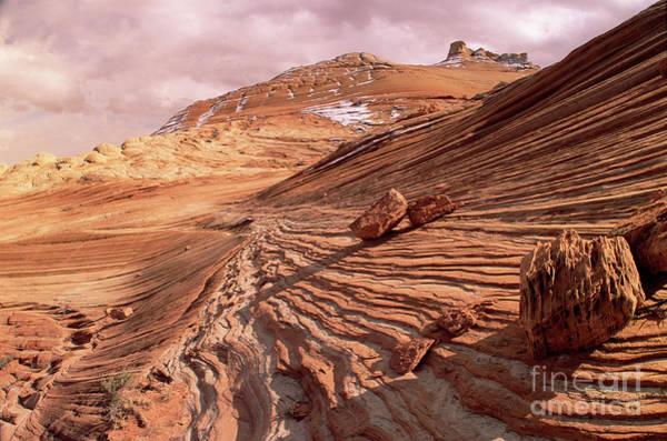 Photograph - Colorado Plateau Sandstone Arizona by Yva Momatiuk and John Eastcott
