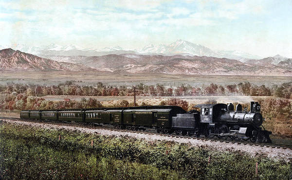 Photograph - Colorado Railroad, C1900 by Granger